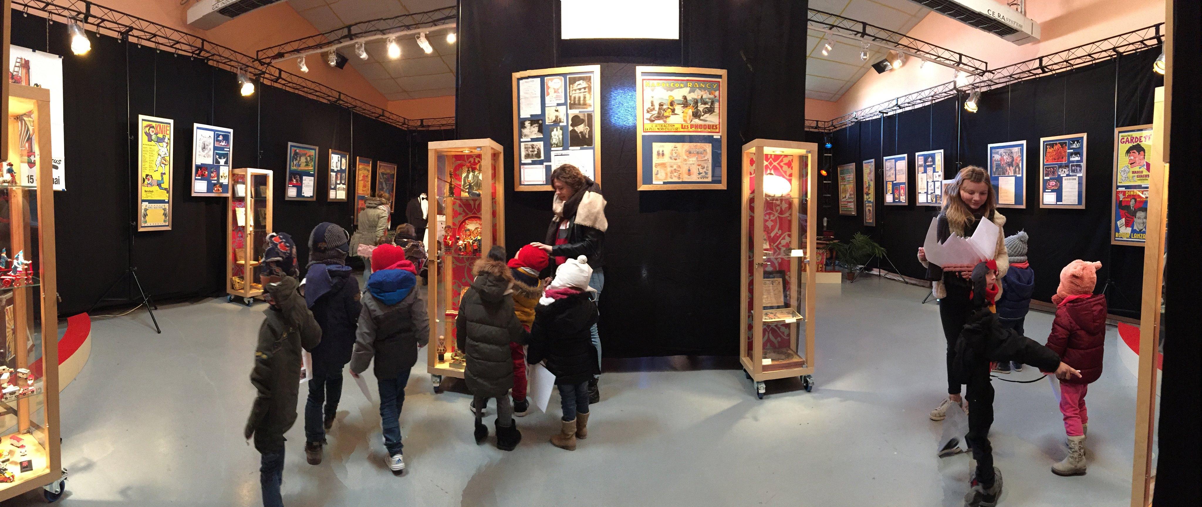 Musée itinérant cirque